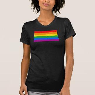 Bandera del orgullo de LGBT/bandera del arco iris Playera