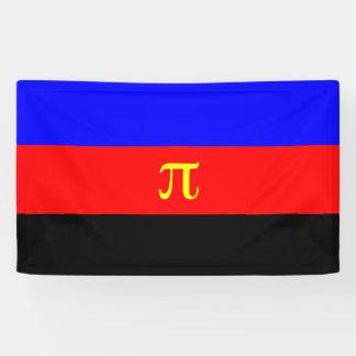 Bandera del orgullo de Polyamory Lona