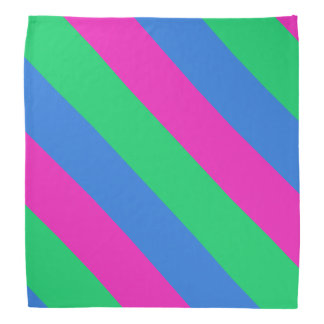 Bandera del orgullo de Polysexual Bandana