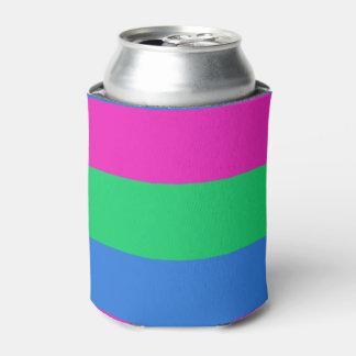 Bandera del orgullo de Polysexual Enfriador De Latas