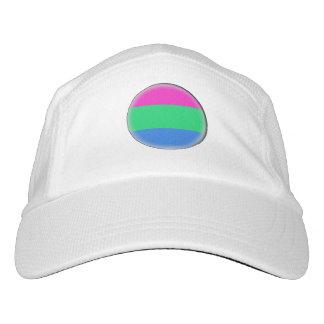 Bandera del orgullo de Polysexual Gorra De Alto Rendimiento