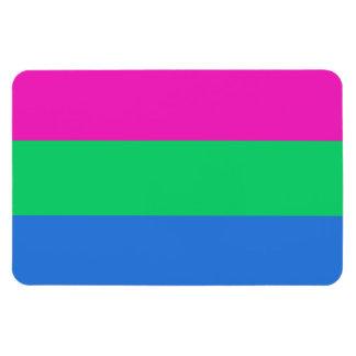 Bandera del orgullo de Polysexual Iman De Vinilo