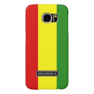 Bandera del orgullo de Rastafarian Fundas Samsung Galaxy S6