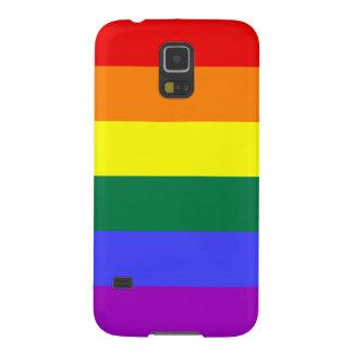 Bandera del orgullo del arco iris carcasas de galaxy s5