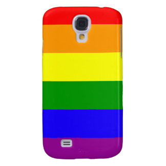 Bandera del orgullo del arco iris funda para galaxy s4