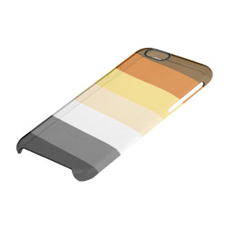 BANDERA DEL ORGULLO DEL OSO ENCENDIDO FUNDA CLEAR PARA iPhone 6/6S