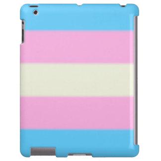 Bandera del orgullo del transexual de Falln Funda Para iPad
