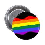bandera del orgullo gay 3D Pins