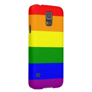 Bandera del orgullo gay fundas de galaxy s5