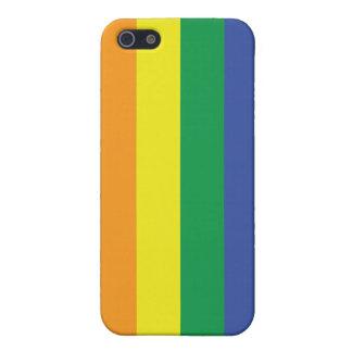 Bandera del orgullo gay iPhone 5 funda