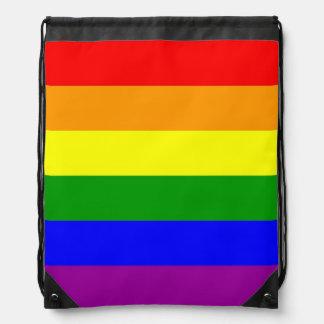 Bandera del orgullo gay mochilas