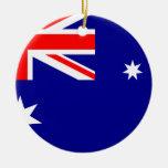 Bandera del ornamento del navidad de Australia Ornamento Para Reyes Magos