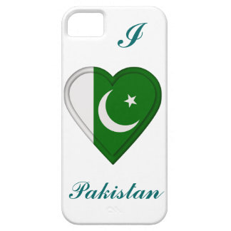Bandera del pakistaní de Paquistán iPhone 5 Funda