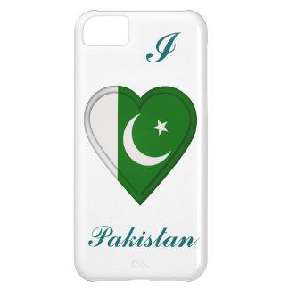 Bandera del pakistaní de Paquistán Funda Para iPhone 5C