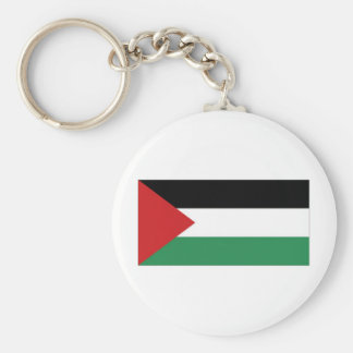 Bandera del palestino de Palestina Llavero Redondo Tipo Pin