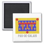 Bandera del Pas-de-Calais con nombre Imán De Nevera