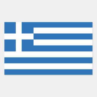 Bandera del pegatina de Grecia