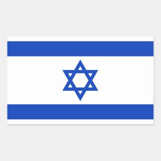 Bandera del pegatina de Israel