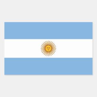 Bandera del pegatina de la Argentina