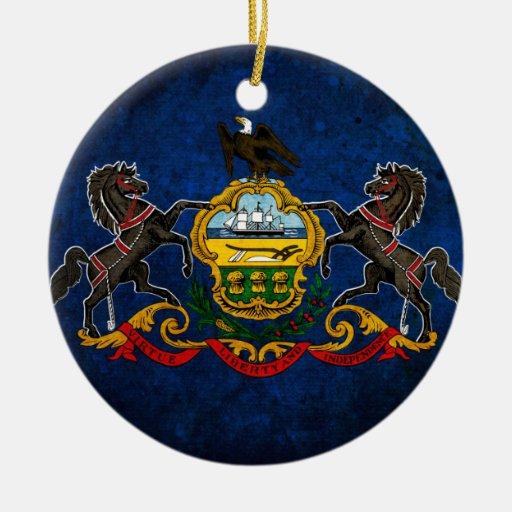 Bandera del Pennsylvanian Adorno De Reyes