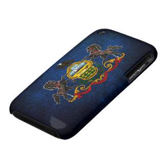 Bandera del Pennsylvanian iPhone 3 Case-Mate Funda