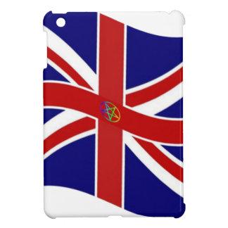 Bandera del Pentagram de Union Jack que agita