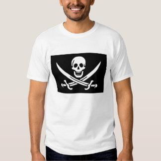 """Bandera del pirata de Rackham del """"calicó"""" de Jack Remeras"""