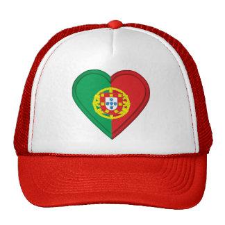Bandera del portugués de Portugal Gorros Bordados