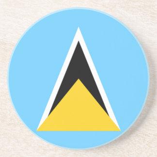Bandera del práctico de costa de la arena de la Sa Posavasos Cerveza
