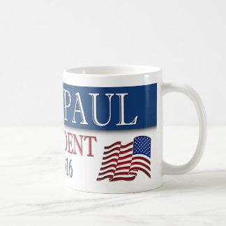 Bandera del presidente 2016 los E.E.U.U. de Paul Taza