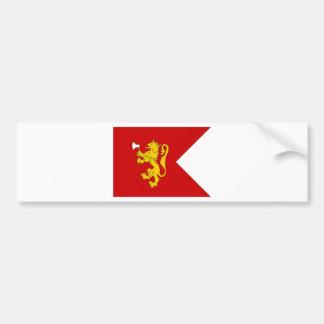 Bandera del Príncipe heredero de Noruega Etiqueta De Parachoque