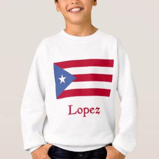Bandera del puertorriqueño de López Sudadera