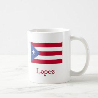 Bandera del puertorriqueño de López Taza