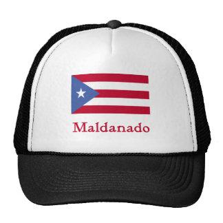 Bandera del puertorriqueño de Maldanado Gorros