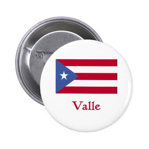 Bandera del puertorriqueño de Valle Pins