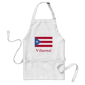 Bandera del puertorriqueño de Villarreal Delantal
