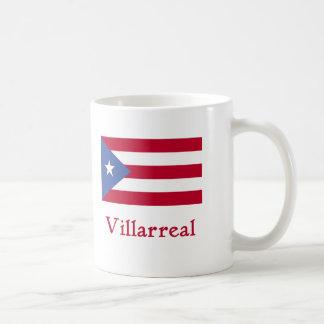 Bandera del puertorriqueño de Villarreal Taza De Café