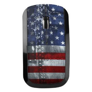 Bandera del ratón de la radio de Estados Unidos Ratón Inalámbrico