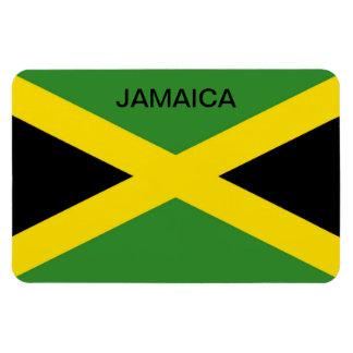 Bandera del refrigerador del país caribeño de Jama Imanes De Vinilo