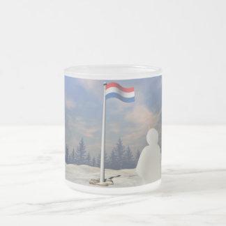 Bandera del Reino de los Países Bajos Taza De Cristal