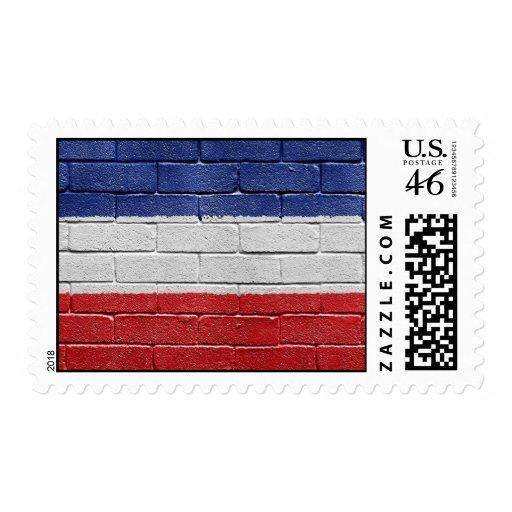Bandera del reino de Yugoslavia Sellos