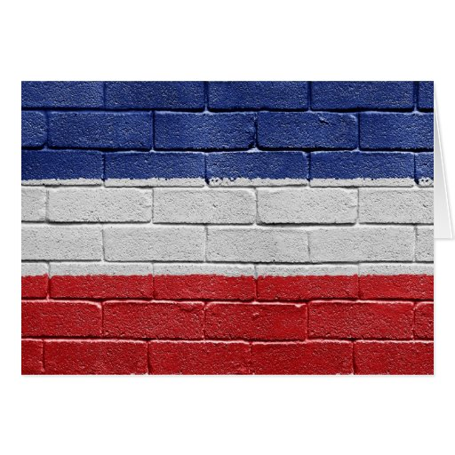 Bandera del reino de Yugoslavia Tarjetas