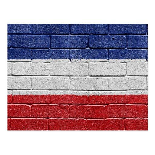Bandera del reino de Yugoslavia Postal