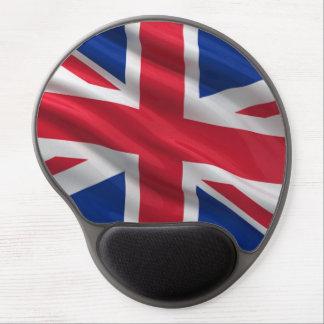 Bandera del Reino Unido Alfombrilla De Raton Con Gel