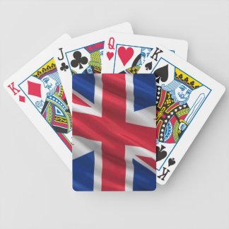 Bandera del Reino Unido Barajas De Cartas