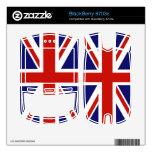Bandera del Reino Unido BlackBerry 8703e Skin