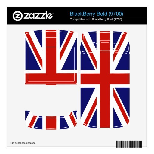 Bandera del Reino Unido BlackBerry Bold Skins
