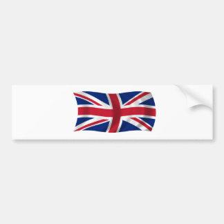 Bandera del Reino Unido Etiqueta De Parachoque