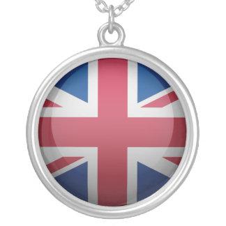 Bandera del Reino Unido Colgante Redondo