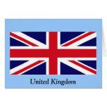 Bandera del Reino Unido Felicitación